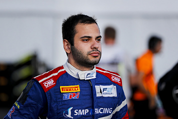 Matevos Isaakyan made his FIA Formula 2 debut at the Sochi Autodrom