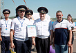 SMP Racing driver Alexey Basov was an honored guest at the circuit racing competitions among traffic police teams in Krasnoyarsk