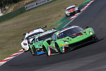 SMP Racing driver Denis Bulatov took a debut podium in the Italian championship GT Endurance race